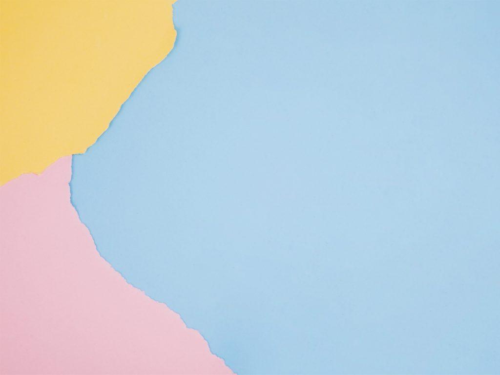 Papiers de couleurs déchirés