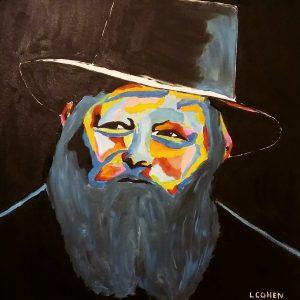 Portrait couleur d'un rabbin