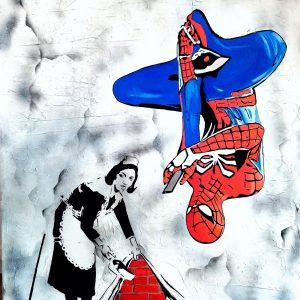 Tableau représentant Spiderman