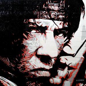 portrait de john rambo